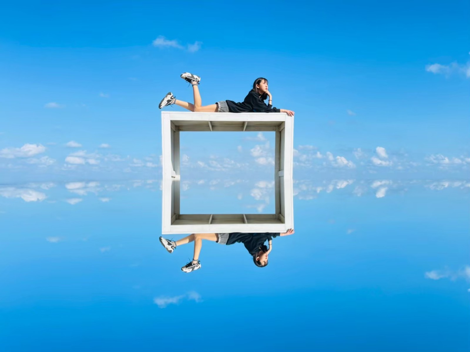 與藍天共舞天空之鏡|台版天空之鏡景點在這,免出國也能拍美照!