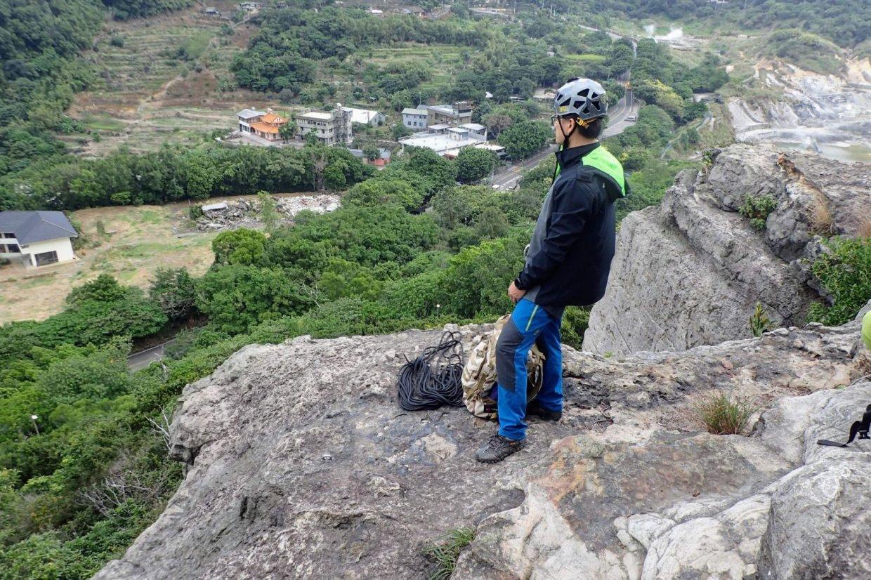 【行程】台北|北投大砲岩攀岩 俯瞰硫磺谷 2