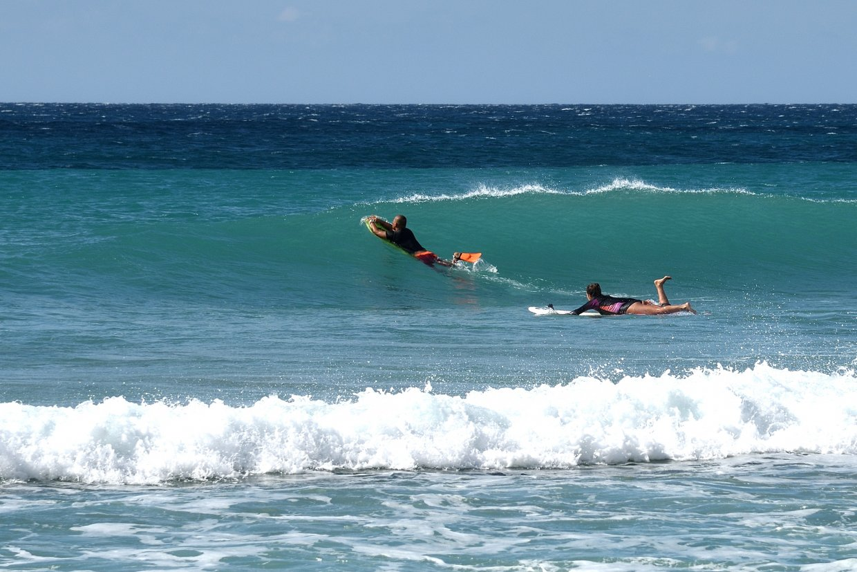 Surfers,Playing,Happily,,Kenting,,Taiwan