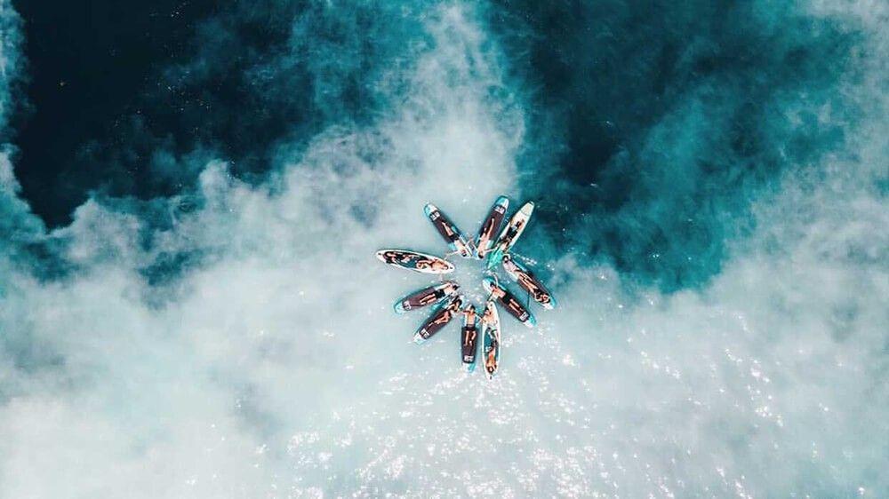 【圖九】海洋教育 豪華雙體遊艇 SUP暢遊如夢似幻牛奶海