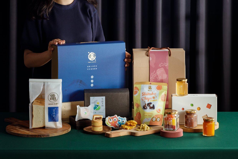 除經典月餅禮盒,還有因應中秋特別推出的柚子酥、健康零食禮盒及奢華法式果醬禮盒組等