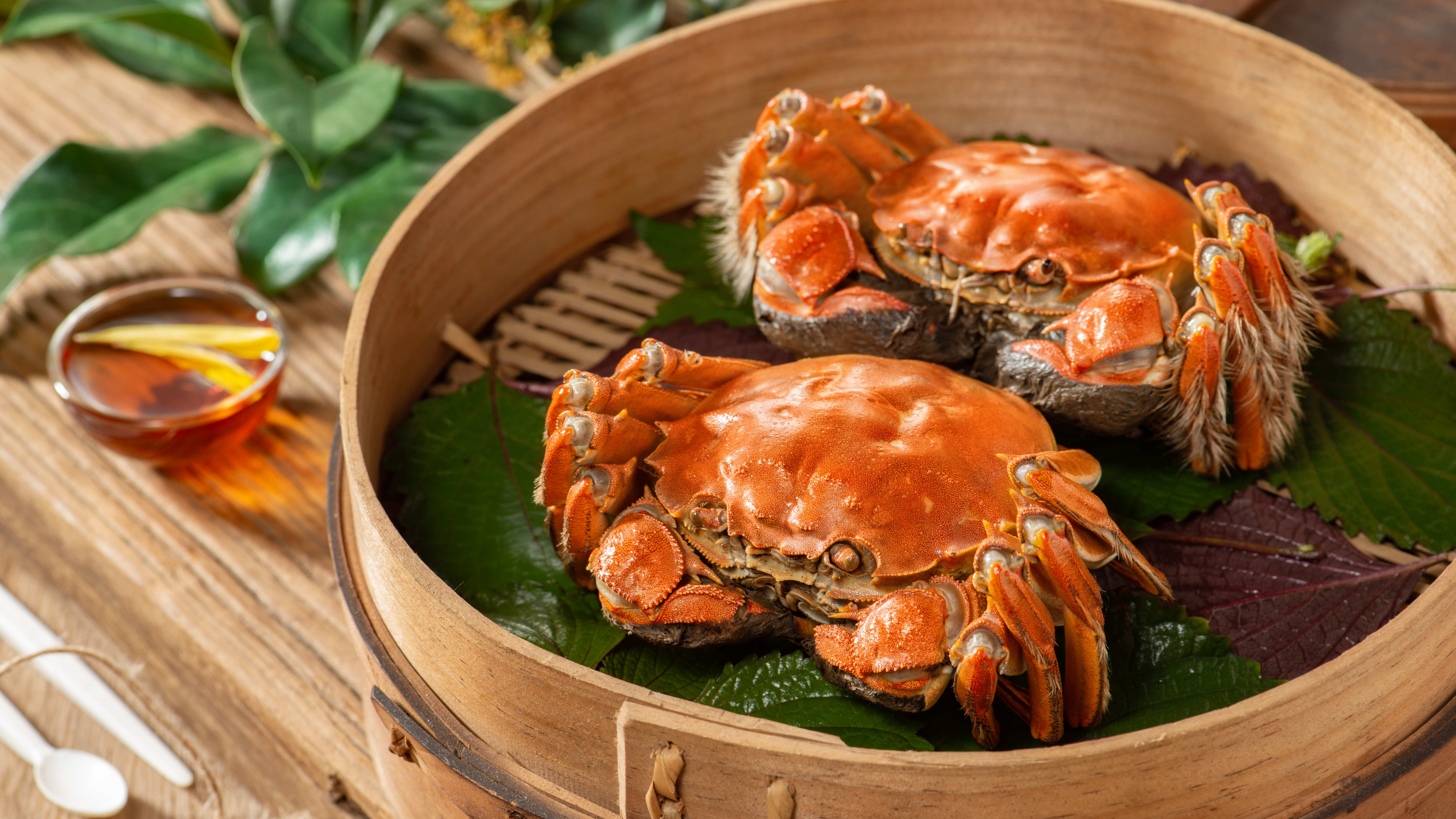 Hairy,Crab,For,Mid Autumn,Festival