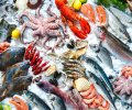 Seafood,On,Ice,At,The,Fish,Market